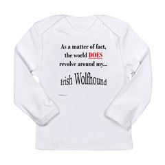 Wolfhound World Long Sleeve Infant T-Shirt