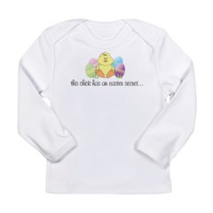 big sister easter Kids Long Sleeve Infant T-Shirt