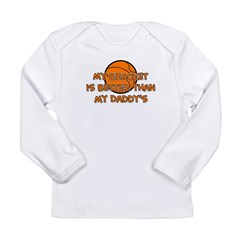 Bracket Daddy Long Sleeve Infant T-Shirt