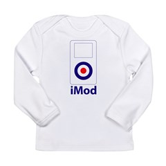 imod_white Long Sleeve Infant T-Shirt