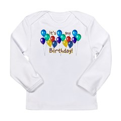 It's My Birthday Long Sleeve Infant T-Shirt