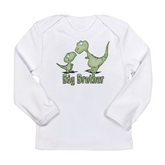 Dinosaurs Big Brother Long Sleeve Infant T-Shirt