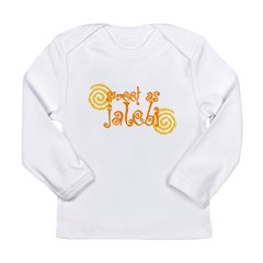 Sweet as Jalebi Long Sleeve Infant T-Shirt