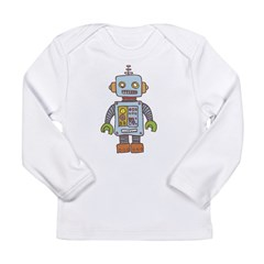 Robot Long Sleeve Infant T-Shirt