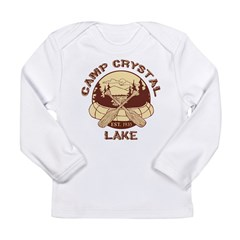 Camp Crystal Lake Long Sleeve Infant T-Shirt