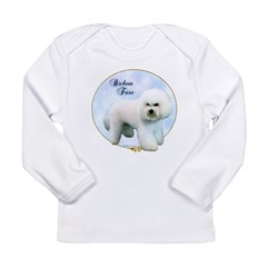 Bichon Portrait Long Sleeve Infant T-Shirt