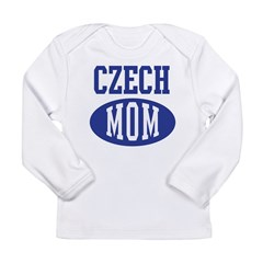 Czech mom Long Sleeve Infant T-Shirt