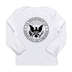 securrorism Long Sleeve Infant T-Shirt