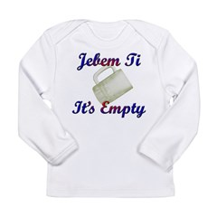 croatian Long Sleeve Infant T-Shirt