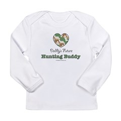 Daddy's Future Hunting Buddy Long Sleeve Infant T-Shirt