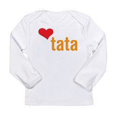 volim tata (I love dad) Long Sleeve Infant T-Shirt