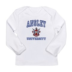 ANSLEY University Long Sleeve Infant T-Shirt