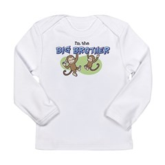 Big Brother (Monkey) Long Sleeve Infant T-Shirt