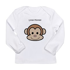 Little Monkey Long Sleeve Infant T-Shirt