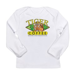 Tiger Brand Coffee Long Sleeve Infant T-Shirt