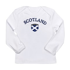 Scotland Soccer Long Sleeve Infant T-Shirt