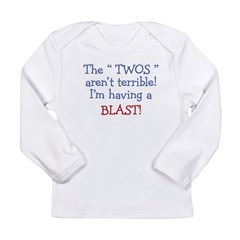 3-Terrible Twos.PNG Long Sleeve Infant T-Shirt