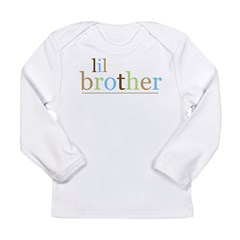 Lil Bro (fun) Long Sleeve Infant T-Shirt