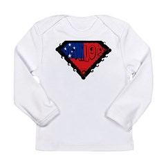 Samoa Flag Long Sleeve Infant T-Shirt