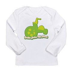 Rollin Down the Street Long Sleeve Infant T-Shirt
