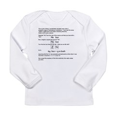 mabus Long Sleeve Infant T-Shirt