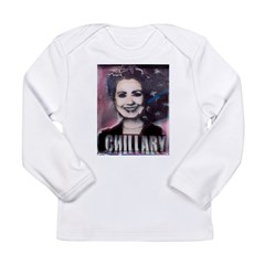 Chillary Photo Fresco Hillary Long Sleeve Infant T-Shirt