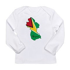 Cool Guyana Long Sleeve Infant T-Shirt