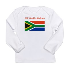 South African Long Sleeve Infant T-Shirt