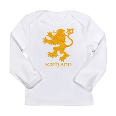 Scottish Lion by Russ Fagle Long Sleeve Infant T-Shirt