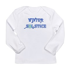 Winter Solstice Long Sleeve Infant T-Shirt