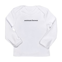 assistant brewer - Long Sleeve Infant T-Shirt