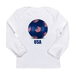 Football Long Sleeve Infant T-Shirt