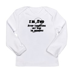 I'm Two Long Sleeve Infant T-Shirt