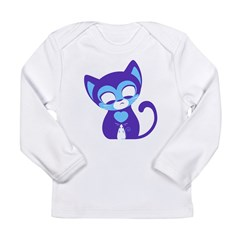 Cute Kitten Long Sleeve Infant T-Shirt