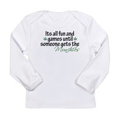 Munchies Long Sleeve Infant T-Shirt
