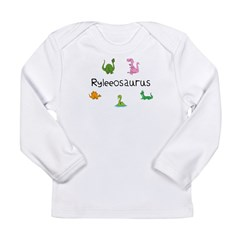 Ryleeosaurus Long Sleeve Infant T-Shirt