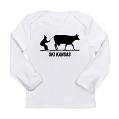 Ski Kansas Long Sleeve Infant T-Shirt