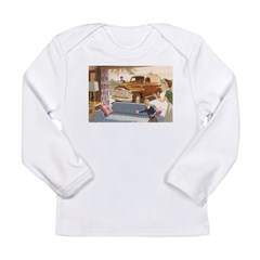 1954 GMC Panel Truck Long Sleeve Infant T-Shirt