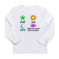 Astronomy for Smart Babies Long Sleeve Infant T-Shirt