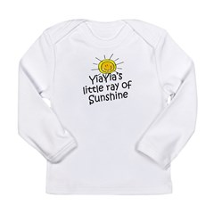 YiaYia's Sunshine Long Sleeve Infant T-Shirt