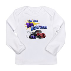 I'm the Big Brother! Long Sleeve Infant T-Shirt