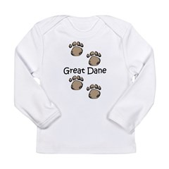 Great Dane Long Sleeve Infant T-Shirt