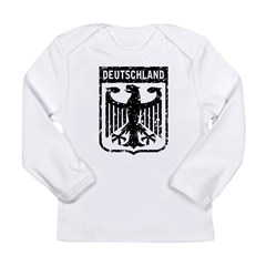 Deutschland Coat of Arms Long Sleeve Infant T-Shirt