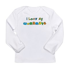 I Love My Wombmate Long Sleeve Infant T-Shirt