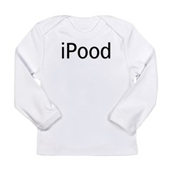 iPood Long Sleeve Infant T-Shirt