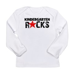 Kindergarten Rocks Long Sleeve Infant T-Shirt