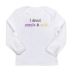 Geaux LSU Long Sleeve Infant T-Shirt