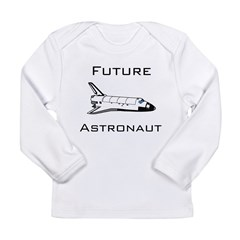 Future Astronau Long Sleeve Infant T-Shirt