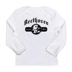 Beethoven Long Sleeve Infant T-Shirt