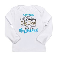 Big Deal Ring Bearer Long Sleeve Infant T-Shirt